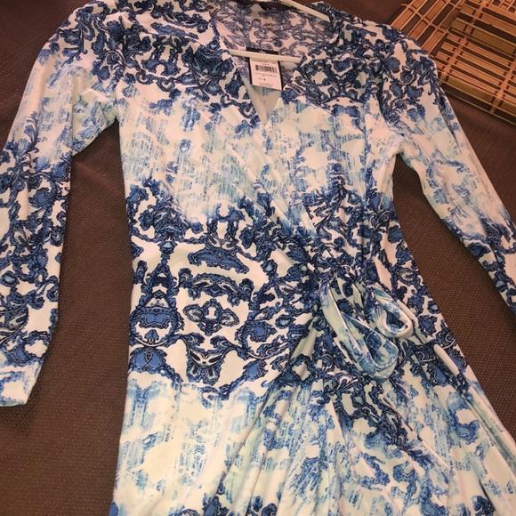 BCBGMaxAzria Dresses & Skirts - BCBG MaxAzria wrap dress